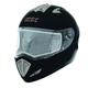 Matte Black Tranz-E Modular Helmet