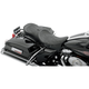 Flame Stitch Low-Profile Touring Seat w/EZ Glide Backrest - 0801-0536
