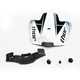 Blue Quadrant Race Visor Kit - 0132-0697