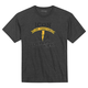 1000 Charcoal Heather Two Timer T-Shirt