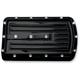 Gloss Black Dimpled  Brake Pedal Pad - C1044-B