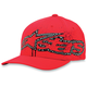Red Disipate Hat