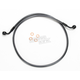 Black Pearl Designer Series 60 Degree Top Angle Custom Single-Disc Front Brake Line - 46645SW