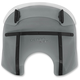 Night Shades Black Drop Top Memphis Fats 15-18 in. Windshield - MDB31410