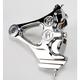 Direct Bolt-On 4-Piston Rear Chrome Caliper - 1274-0076-CH