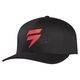 Black/Red Barbolt Flex-Fit Hat