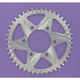 Silver Aluminum Rear Sprocket - 452A-44