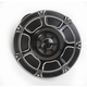 Black Beveled Billet Horn Kit - 70-204