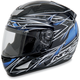 Black Blue Line FX-95 Helmet
