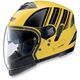 Yellow/Black N43ET Trilogy N-Com Helmet