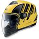 Yellow/Black N43ET Trilogy N-Com Helmet