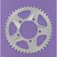 Aluminum Silver Rear Sprocket - 528C45
