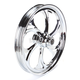 21 in. x 2.15 in. Front Chrome Recoil One-Piece Forged Aluminum Wheel - 21215-9013-105C
