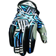 Black/Blue Hazard-X Gloves