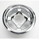 Chrome Large Bell Cast Aluminum Utility ATV Wheel - 02300037
