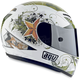 White T-2 Warrior Helmet