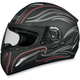 FX-100 Black Waves Helmet - 0101-4523