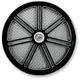 Black 7-Spoke Air Cleaner Cover - ACC-7S-B