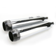Chrome 3 1/2 in. Tru Power Slip-On Mufflers W/Black Tips - LA-1060-02B
