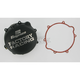 Factory Racing Black Clutch Cover - CC-42B