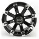 Black 393X Cast Aluminum ATV/UTV Wheel - 0230-0533