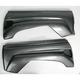 Black Carbon Fiber Rear Fender - 149010