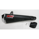 CS One Slip-On Muffler w/Black Ceramic-Coated Muffler Sleeve - 43509