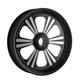 Midnight Series 16 in. x 3.50 in. Modular Dominator 6 Billet Wheel - 602711