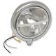 Chrome 5 3/4 in. Bottom Mount LED Headlight - 2001-0763