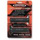 Black 2-Density MX Grips - 99115