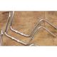 Mini Knurled Springer Ape Hanger Chrome Handlebar - 650-28097