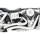 Chrome Sharp Curve Radius Exhaust System - HD00218