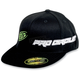 Black/Green PC Straight Hat