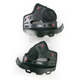 Black Firm Cheek Pad Set for X-Small and Small Star Helmets