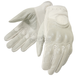 Womens White Perforated Vanity Gloves