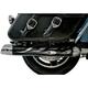 Flame Heat Shields for OEM Style 4 in. Mufflers - LA-1098-00