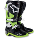 Black/Green Tech 10 Boots
