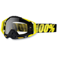 Black/Yellow Racecraft Goggles w/Clear Lens - 50100-014-02