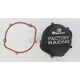 Factory Racing Black Clutch Cover - CC-07XB