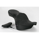 Flame Stitch w/Studs Low-Profile Double-Bucket Seat with Backrest - 0810-0765