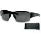 Shiny Black Ryval Street Series Sunglasses - ERYV001AR