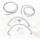 Stainless Steel Brake Line Kit For Use With 12-14 Inch Ape Hangers - LA-8051B13