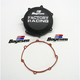 Factory Racing Black Clutch Cover - CC-37B