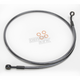 Black Pearl Designer Series 180 Degree Top Angle Custom Single-Disc Front Brake Line - 46746SW