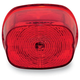 Red Squareback Tailight w/o License Plate Illumination Window - GEN2-SB-R