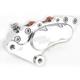 Polished J-Six Ultra Six-Piston Front Brake Caliper for 300 MM Rotors - 376T-3161