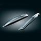 Chrome Upper Saddlebag Filler Panels w/o Detachable Brackets - 7207