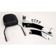 Complete Backrest/Mount Kit with Small Steel Backrest - 34-3109-01