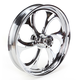 21 in. x 3.5 in. Front Chrome Recoil One-Piece Forged Aluminum Wheel - 21350-9017-105C