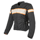 Womens Black/Cream/Orange American Beauty Jacket